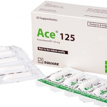 ACE-125MG SUPPOSITORIES