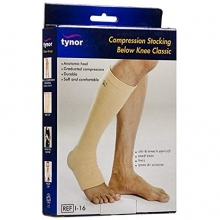 COMPRESSION STOCKINGS BELOW KNEE-LARGE