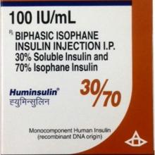 HUMINSULIN-30/70 CARTRIDGE (100 IU/ML)