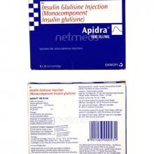 APIDRA CARTRIDGE 3ML(100IU/ML)