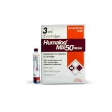 HUMALOG MIX-50 CARTAGE