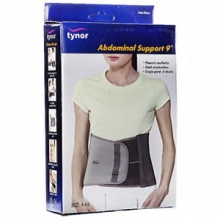 "ABDOMINAL SUPPORT 9"" LARGE"