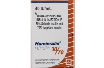 HUMINSULIN 30/70 VIAL (40IU/ML)
