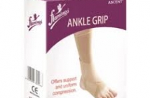 ANKLE GRIP-MEDIUM FLAMINGO