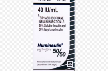 HUMINSULIN 50/50 (40 IU/ML)