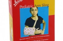 ARM SLING PEDIATRIC-L-FLAMINGO