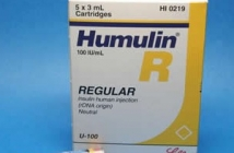 HUMINSULIN R CARTRIDGES (100IU/ML)